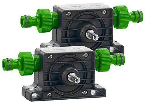Royal Gardineer Wasserpumpe: 2er-Set Pumpenaufsätze für Bohrmaschinen zum Um- und Auspumpen (Wasserpumpe für Gartenschlauch)