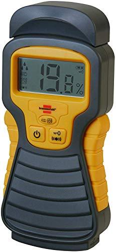 Brennenstuhl Feuchtigkeits-Detector MD (Feuchtigkeitsmessgerät/Feuchtigkeitsmesser für Holz oder Baustoffen, mit LCD-Display)