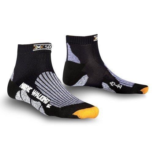 X-Socks Funktionssocken Nordic Walking, Black, 42/44