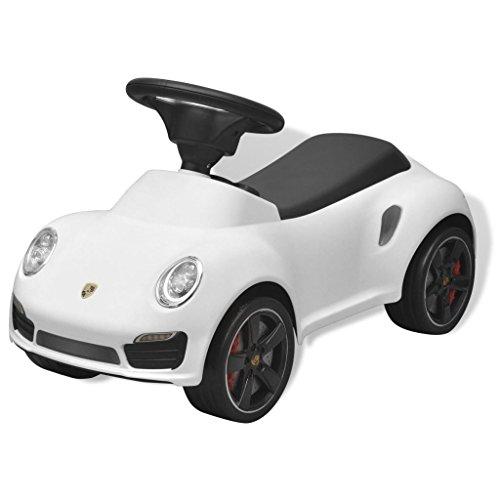 vidaXL Rutschauto Porsche 911 Weiß