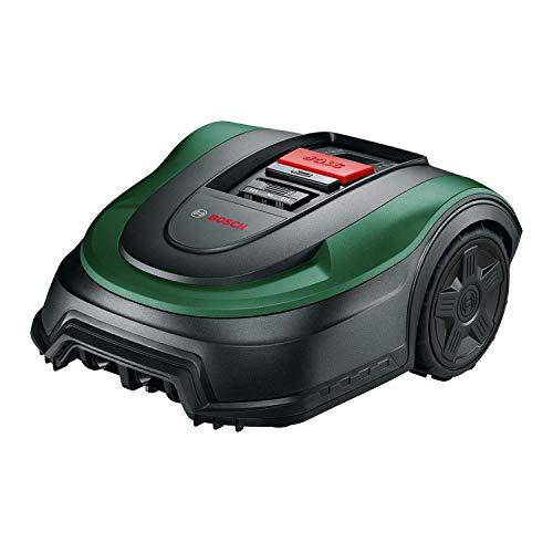 Bosch Rasenmäher Roboter Indego XS 300 (mit integriertem 18-V-Akku, Ladestation enthalten, Schnittbreite 19 cm, für Rasenflächen bis 300 m2, im Karton)