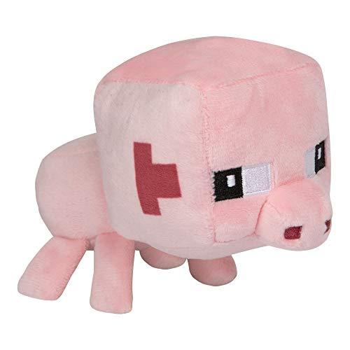 JINX 9582 Minecraft Mini Crafter Pig / Schwein, 13 cm Plüsch