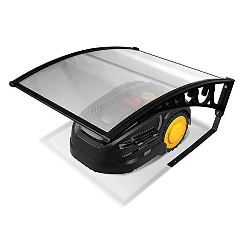 SONUG Mähroboter Garage Dach Carport für Rasenmäher Automower 105x85x45cm Mähroboter Carport Schutzhülle Schutz vor Regen, Hagel und UV-Strahlen Kommt