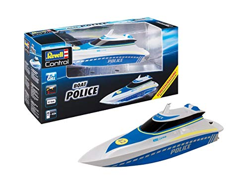 Revell Control Waterpolice RC Einsteiger Motorboot 100% RTR 350mm