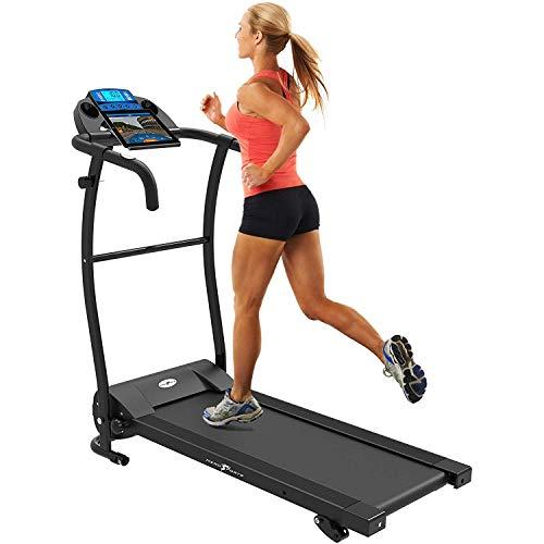Nero Sports Treadmill mit faltbarem, elektrisch motorisiertem Bluetooth-Laufband