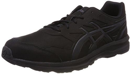 ASICS Herren Gel-Mission 3 Walkingschuhe, Schwarz Black Carbon Phantom 9097, 44.5 EU