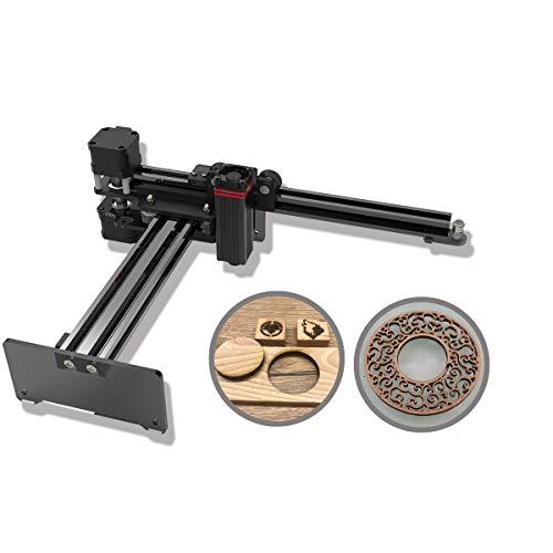 NEJE Master2s 20 W Lasergravierer Holz Lasergravur Schneidemaschine Desktop Tragbarer Graveur DIY Logo Markierungsdrucker Drahtloses APP Controller Modul 5,5 W