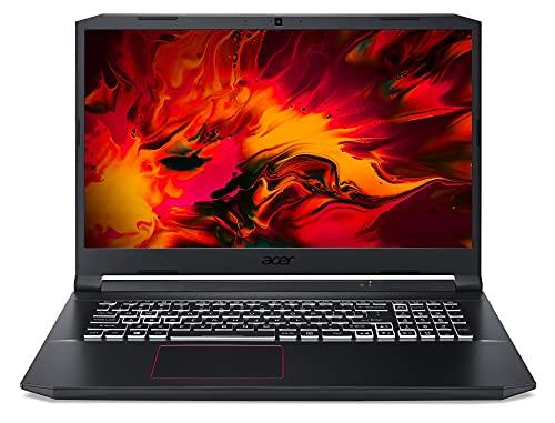 Acer Nitro 5 (AN517-52-555T) Gaming Laptop 17 Zoll Windows 10 Home - FHD 120 Hz IPS Display, Intel Core i5-10300H, 8 GB DDR4 RAM, 512 GB M.2 PCIe SSD, NVIDIA GeForce RTX 3060 - 6 GB GDDR6