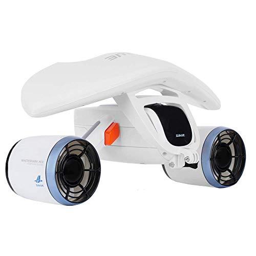 Sublue WhiteShark Mix Unterwasserscooter Dual Motoren, Action Kamera kompatibel, Wassersport Schwimmbad Tauchen für Kinder/Erwachsene (EU Version)