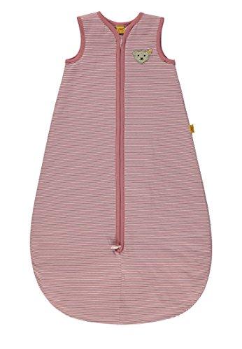 Steiff Baby-Mädchen Schlafsack, Rosa (y/d Stripe|Multicolored 0001), 74 (Herstellergröße: L 90)