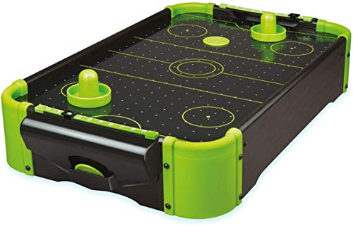 Unbekannt Funtime Gifts pl7780Air Hockey 20Version Tisch Top Family Game, Neon