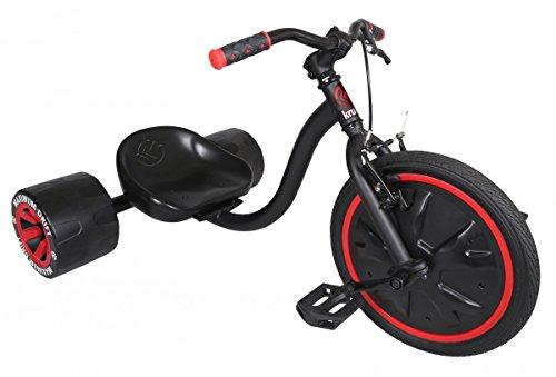 Mini Drifter KRUNK by MADD Gear Drift Trike Drifttrike | Mehr als nur ein Dreirad für Kinder | Solide Stahl-Konstruktion | Spektakuläre Drifts dank der robusten 16' vollbereiften Vorderräder und speziellen Hinterreifen | Mit einem 5er-Pack Aufkleber für die individuelle Gestaltung | Max. Belastung: 68 kg | Geeignet ab 5 Jahren