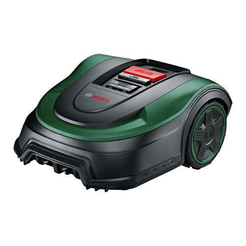Bosch Rasenmäher Roboter Indego S 500 (mit 18V Akku, Ladestation enthalten, Schnittbreite 19 cm, für Rasenflächen bis 500 m², im Karton)