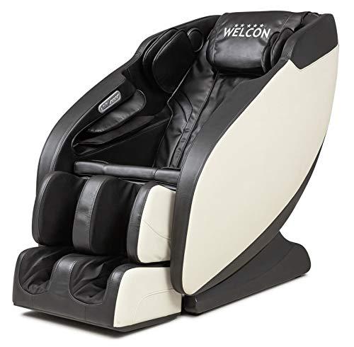 Massagesessel WELCON Prestige II - 5-Sterne-Premium 3D Massagesessel für zuhause mit Zero Gravity, Wärmefunktion und 6 Automatikprogrammen