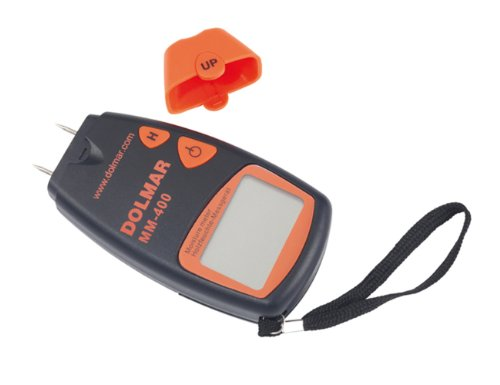 Dolmar 988050516 Digitales Holzfeuchtemessegerät inklusive Batterie MM400