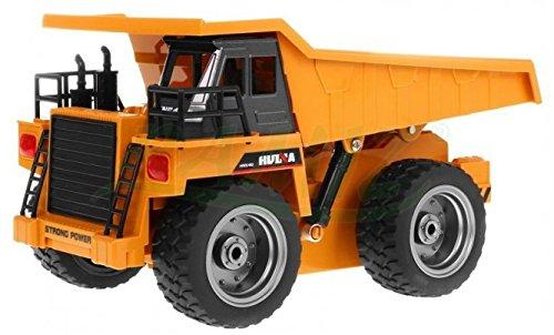 BSD RC Ferngesteuertes Auto Baumaschine Muldenkipper Metal Kabin 1:18 Spielzeug