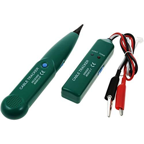 akku-net Cable Tracker, Locator, Kabel-Tester, Leitungssuchgerät, Schleifensuchgerät MS6812