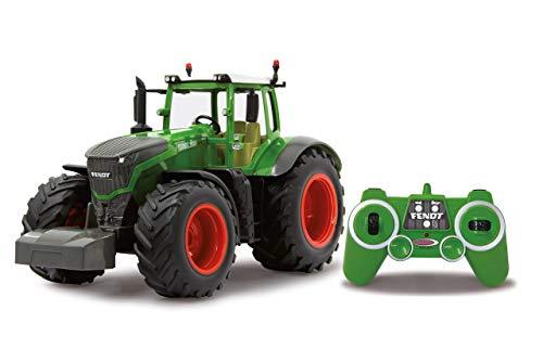 Jamara 405035 – Fendt 1050 Vario 1:16 2,4Ghz – RC Traktor, Motorsound (abschaltbar), Rückfahrwarnsound, Hupe, Abschaltfunktion, 2 Radantrieb, Gummireifen, Helle LED's vorne, Blinker, Demo Funktion