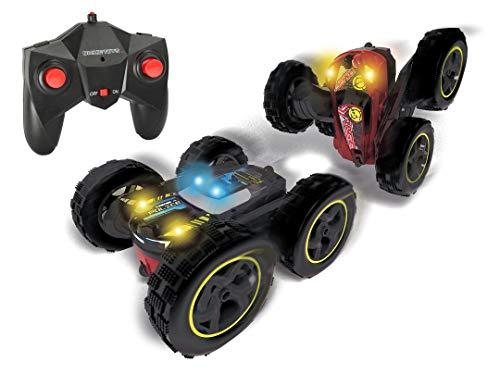 Dickie Toys RC Tumbling Flippy, ferngesteuertes Spielzeugauto, Rotations und Flip Funktion, für draußen und drinnen, mit Fernbedienung, für Jungen und Mädchen, beleuchtet, ab 6 Jahren