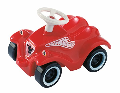 BIG-Mini-Bobby-Car-Classic -Miniaturmodell des BIG-Bobby-Car Classic, mit Rückzugmotor, einzeln verpackt, für Kinder ab 1 Jahr
