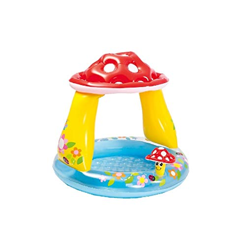 Intex Ware 57114NP Baby Pool Pilz, Durchmesser 102 x 89 cm, bunt