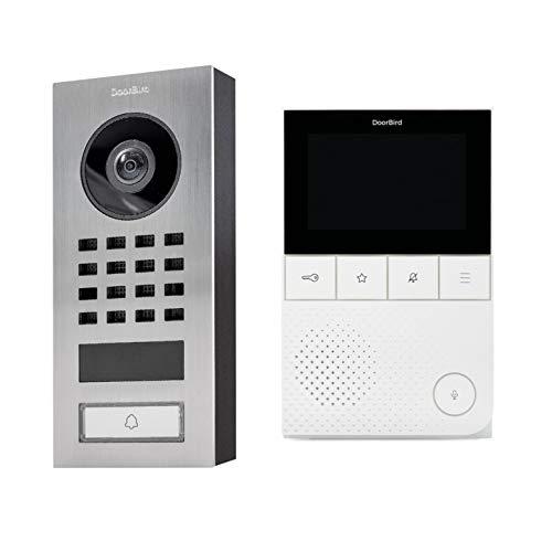 DoorBird D101S IP-Video-Türsprechanlagen-Kit und A1101 Videomonitor - Doorbird D101S KIT 2