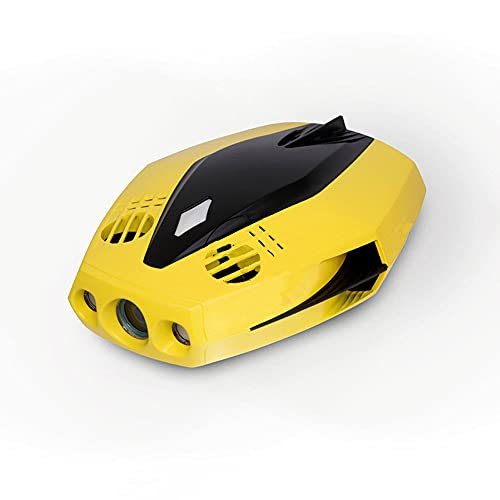 JINFENFG 1080P High-Definition Unterwasserkamera Such- und Rettungskamera, tragbarer wasserdichter Roboter mit Kamera, ferngesteuertes U-Boot, mit GPS-Boje, Echtzeit-Anzeigeposition, Tauchtiefe bis zu