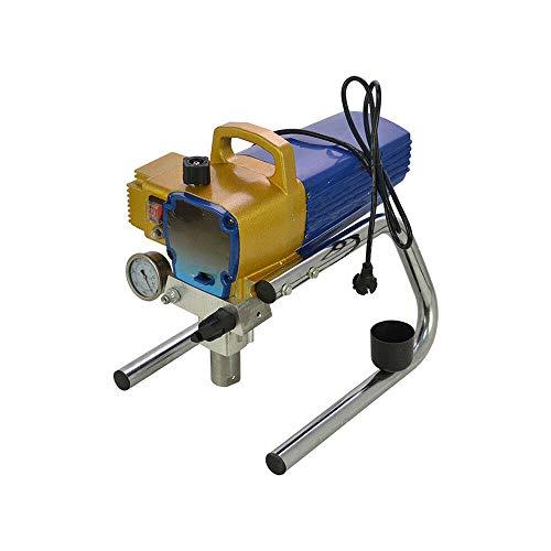 2.5 L/min Airless Farbsprühgerät YUNRUX Spritzlackiermaschine H680 Spritzpistole Airlessgerät Spritzgerät Spritzpistolenmaler Sprühmaschine für Wanddecken/Holz Metallfarbe Innen und Außenbereich Gelb