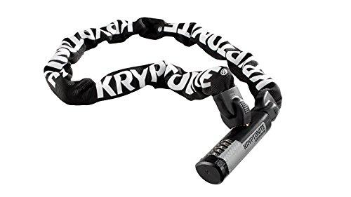 Kryptonite Uni KryptoLok 912 Combo I.C. (120cm) Fahrradschloss, Black, 120 cm