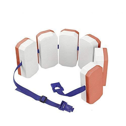 Lively Moments Bema Schwimmlernhilfe / Schwimmgürtel mit 6 Auftriebskörpern für Kinder 6 - 12 Jahre