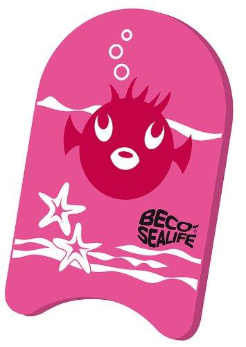 BECO Kinder Schwimmbrett Sealife Aqua Board Wasserbrett pink