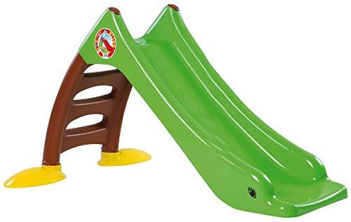 Dohany 2in1 Kinderrutsche Wasserrutsche freistehend Rutschbahn Rutschlänge 120 cm (grün/brau)