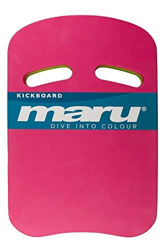 maru AT7123 Kickboard, Pink/Limette, Einheitsgröße