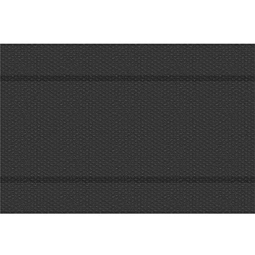 TecTake 800710 Pool Solarabdeckplane, schnellere Wassererwärmung & geringere Wasserverdunstung, rechteckig, schwarz - Diverse Größen - (4x6 m | Nr. 403098)