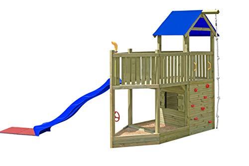 Gartenpirat Spielturm Schiff aus Holz für Kinder im Garten