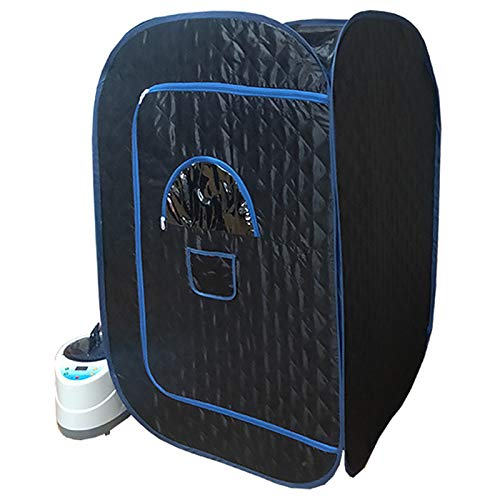 YJF-MRY Dampfsauna-Raum - Übergroße Tragbare Dampfsauna-Kabine Mobile Mini-Ganzkörper-Dampfsauna, Persönliche Zusammenklappbare Saunakabine Home Spa Zur Gewichtsreduktion