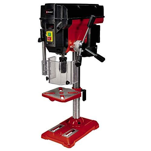 Einhell Säulenbohrmaschine TE-BD 550 E (max. 550 W, 115 mm Ausladung, stufen-/werkzeuglose Drehzahlregulierung, LCD Anzeige, Qualitäts-Schnellspannbohrfutter, einstellbarer Tiefenanschlag)