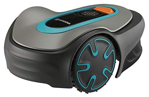 Gardena Sileno Minimo 250 | Rasenmäher Roboter, bis zu 250 m² - Mäht bei Regen und Enge Durchgänge, Bluetooth App, sehr leise, automatisch, Rasenroboter (15201-26), FR/NL-Version