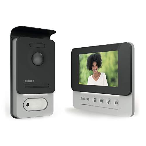 PHILIPS WelcomeEye COMPACT -Videosprechanlage - 2 Draht Technik - 4,3' Display DES 9300 VDP