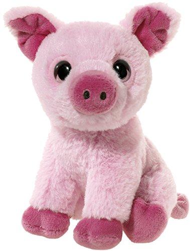 Heunec 273979 MINI-MI Schwein Plüschtier, Rosa