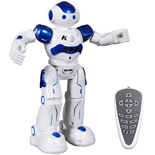 ANTAPRCIS Ferngesteuerter Roboter Spielzeug für Kinder, Intelligent Programmierbar RC Roboter mit Gestensteuerung, LED Licht und Musik, RC Spielzeug für Kinder Jungen Mädchen Geschenk