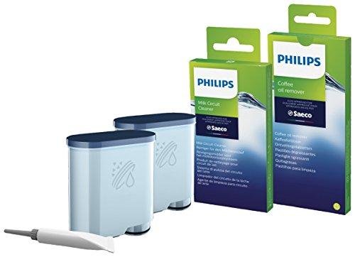 Philips Rundum-Pflegeset für Kaffeevollautomaten (enthält AquaClean Wasserfilter)