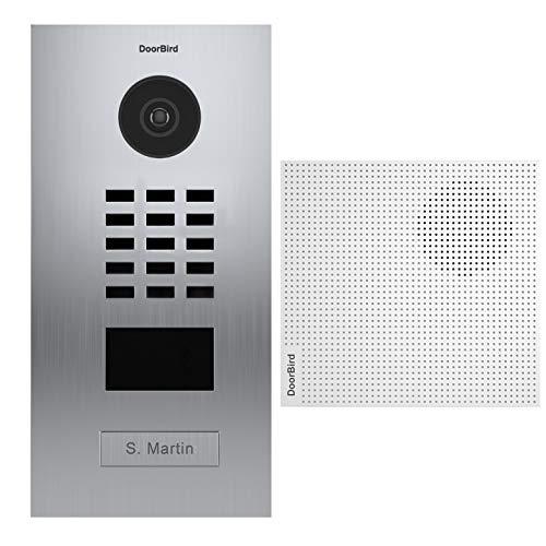 Doorbird – Kit D2101V + A1061W – IP-Video-Türsprechanlage RFID-Ausweisleser + Türklingel