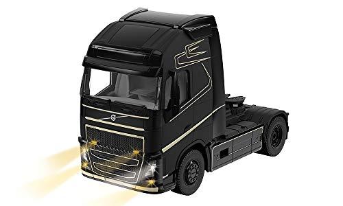 siku 6731, Volvo FH16 LKW, 1:32, Metall/Kunststoff, Schwarz, Ferngesteuert, Steuerung mit App via Bluetooth, Ohne Fernsteuermodul