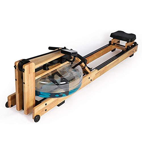 Ouumeis Rudergeräte Wasserbeständiges Rudergerät Mit LCD-Anzeige Haushalts Wasserrudergeräte Indoor Aerobic Slimming Fitnessgeräte