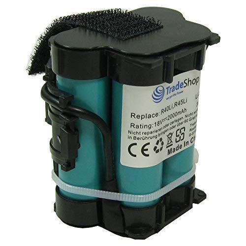 Trade-Shop Premium Li-Ion Akku 18V / 2000mAh für Gardena Mähroboter R38Li R50Li R75li R40Li R45Li R70Li R80Li R80 LI 124562