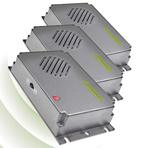 ISOTRONIC Mäuseabwehr Ultraschall Ratten- und Mäusevertreiber mobil Nagerabwehr Tiervertreiber Mäuseschreck batteriebetrieben für Garten Haus Keller und Dachboden Mäuse vertreiben ohne Chemie (3)