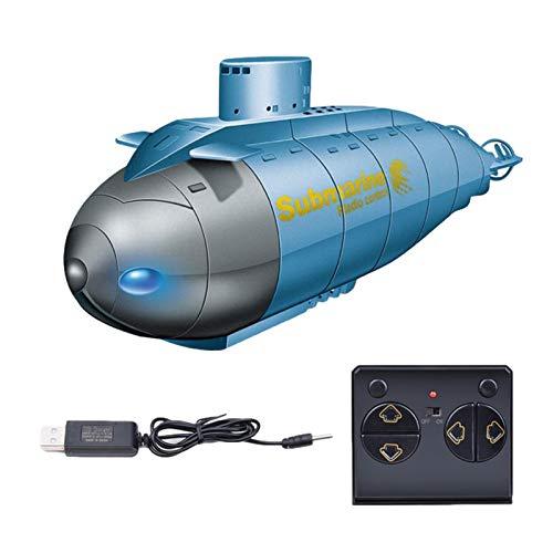 RC Ferngesteuertes Mini-U-Boot, 2.4G RC Glowing Smart Electric U-Boot-Boot, Ferngesteuertes Schiff Mit Licht, Hoch Simuliertes Tauchspielzeug Für Kinder, Einfach Zu Steuern