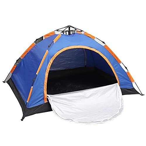 Wurfzelt 2 Personen Wasserdicht Camping Zelt mit 2 Türen Einfache Einrichtung und Verpacktes Kuppelzelt für Camping Wandern Outdoor Aktivitäten Kinderzelt (200 * 150 * 110cm)