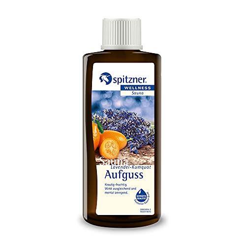 Spitzner Saunaaufguss Wellness Lavendel-Kumquat (190ml) Konzentrat